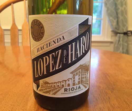Hacienda López de Haro Rioja Blanco 2016
