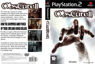 Capa Frente-Fundo ObsCure 2 PS2 Torrent 2007 +Tradução Br