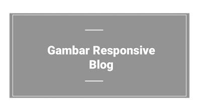 Kode HTML Responsive Gambar AMP Blog