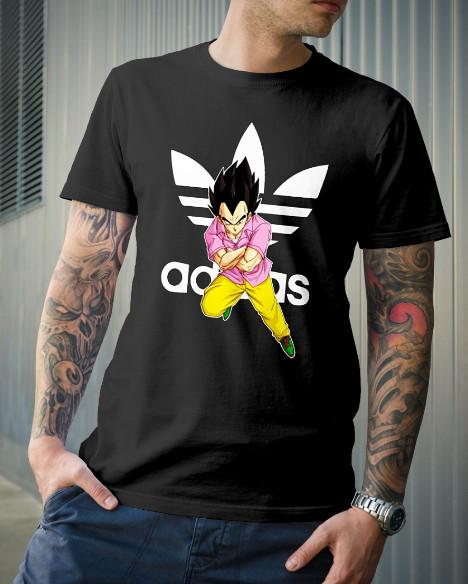 Vegeta Adidas T Shirt Shirts