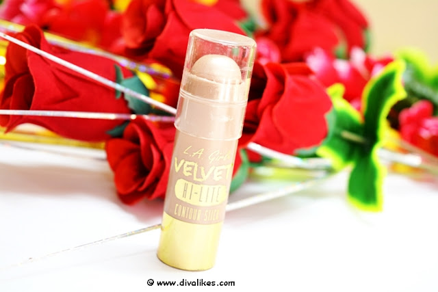 L.A. Girl Velvet Contour Highlighter Stick Luminous Review