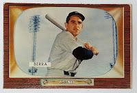 1955 Bowman Yogi Berra