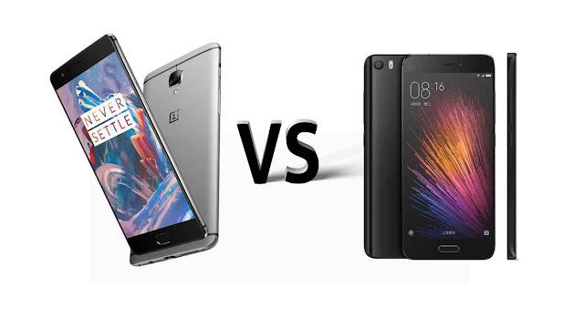 OnePlus 3 VS Xiaomi Mi5