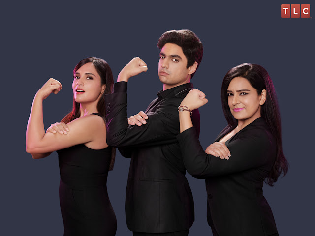 (L-R) Richa Chadha, Rohan Joshi & Kaneez Surka
