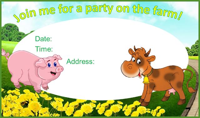 Kit de la Granja para Imprimir Gratis Ideas y material gratis para fiestas y celebraciones Oh