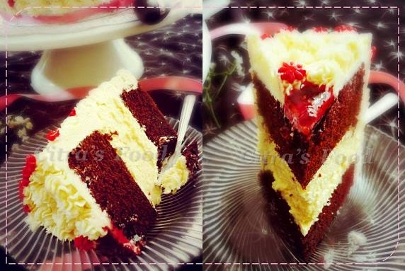 Red Velvet Steam Cake