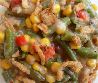 creamy mixed vegetable casserole-crock pot