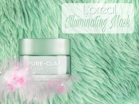 Review L'oreal Illuminating Mask - Purify & Mattify Face Mask