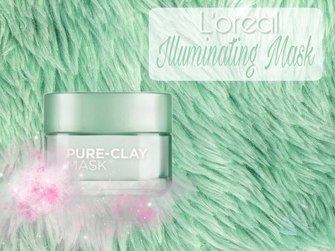 Review L'oreal Illuminating Mask - Purify & Mattify Face Mask
