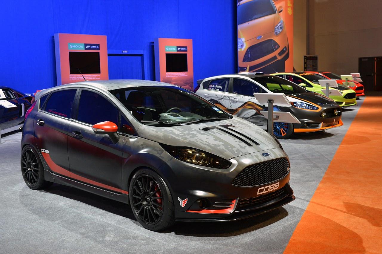 169 Automotiveblogz Ford Fiesta St Customs Sema 2013 Photos