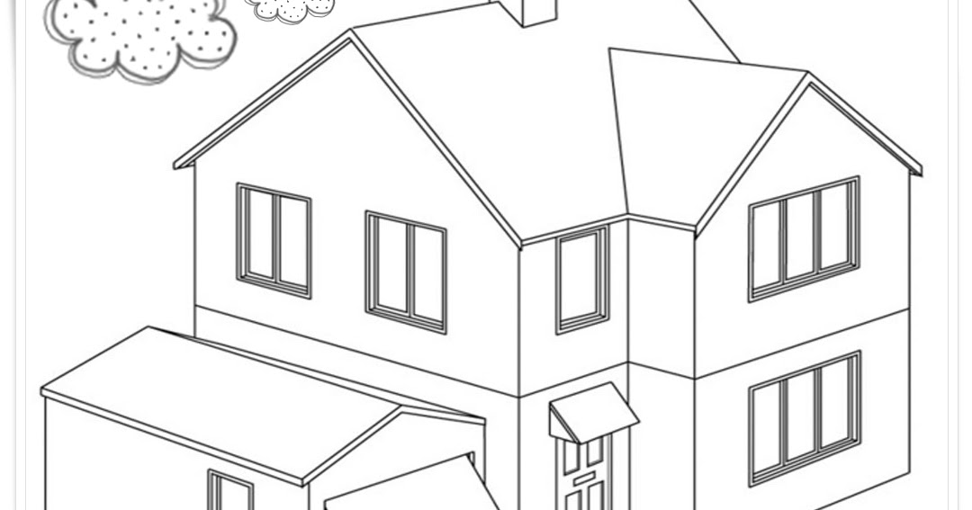 Gambar Rumah Adat Padang Hitam Putih