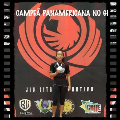 Registrense conquista ouro no Pan-Americano de JiuJitsu