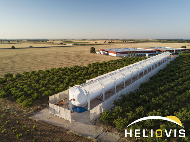 PR | HELIOVIS Successfully Commissioned Inflatable Solar Collector