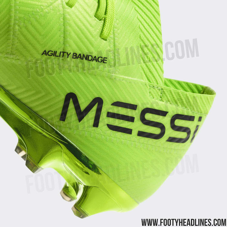 9de44c77d7c9b3 Lionel Messi's 2018 World Cup boots introduce a vibrant and bold design,  the first of its kind to be based on the second-generation Adidas Nemeziz  18 boot.