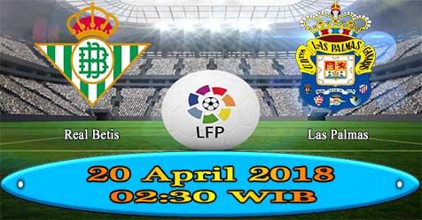 Prediksi Bola855 Real Betis vs Las Palmas 20 April 2018