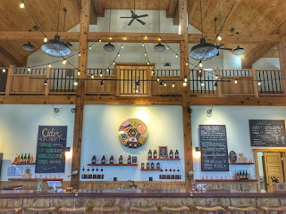 Mt. Defiance Cider Barn interior