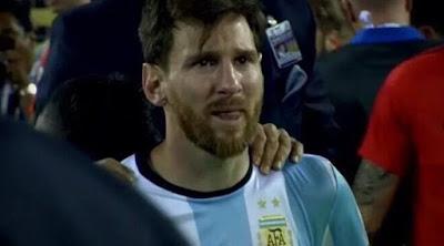 Sedih Melihat Perang Suriah, Messi: Hati Saya Hancur