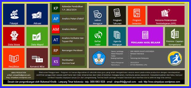 Download Aplikasi Absensi Guru Dengan Format Digital Berwarna Versi Terbaru