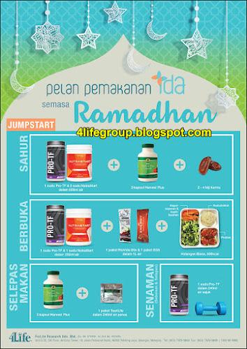 foto Pelan Pemakanan IDA Semasa Ramadhan (JumpStart)