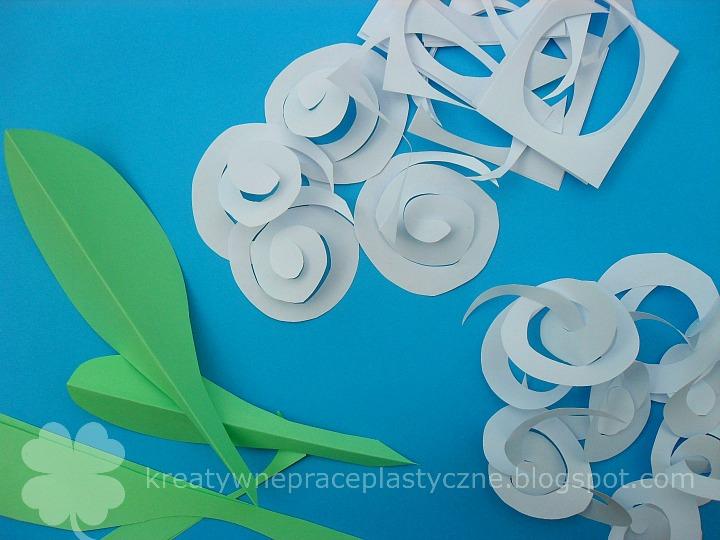 hiacynt z papieru