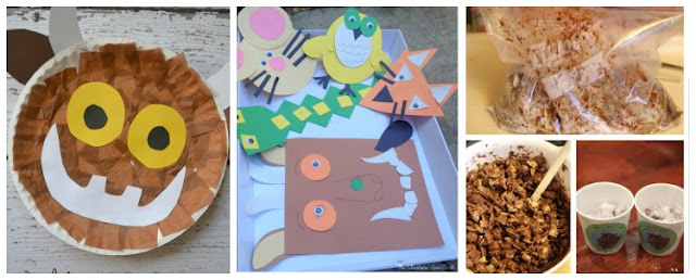 All About Authors: Julia Donaldson- Crafts and activities to support The Gruffalo