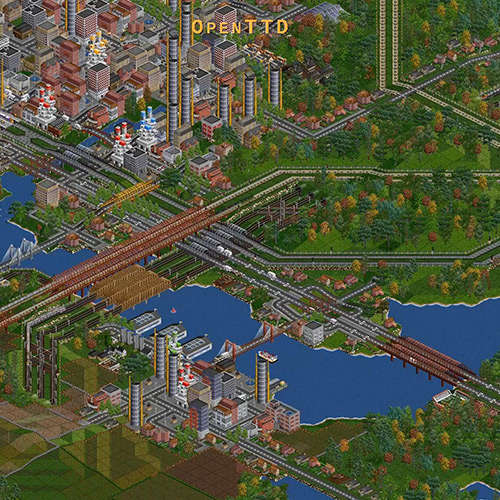OpenTTD Theme Wallpaper Engine