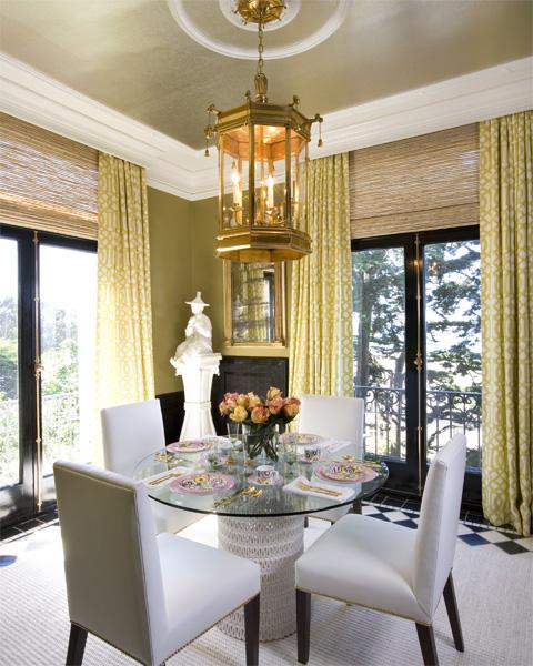 Curtains For Dining Room Windows: Designer Bags And Dirty Diapers: I Want To Get My Trellis On