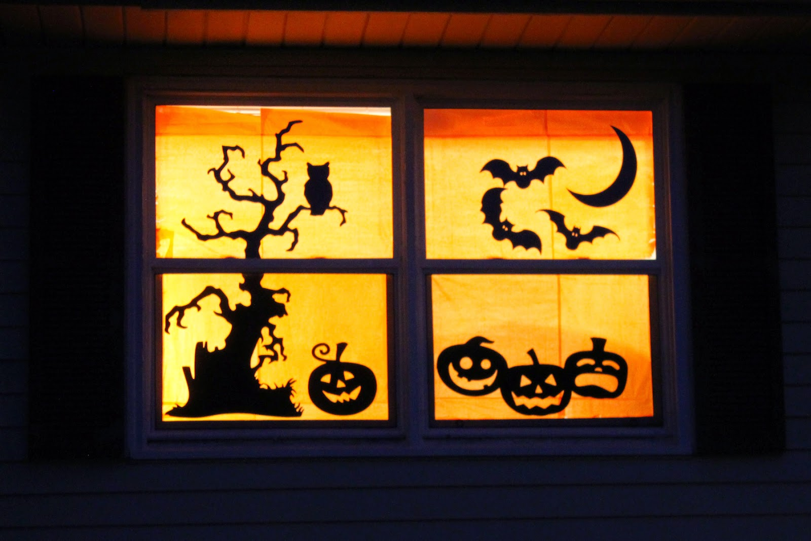 halloween window decorations unified window decorations for your house 29704
