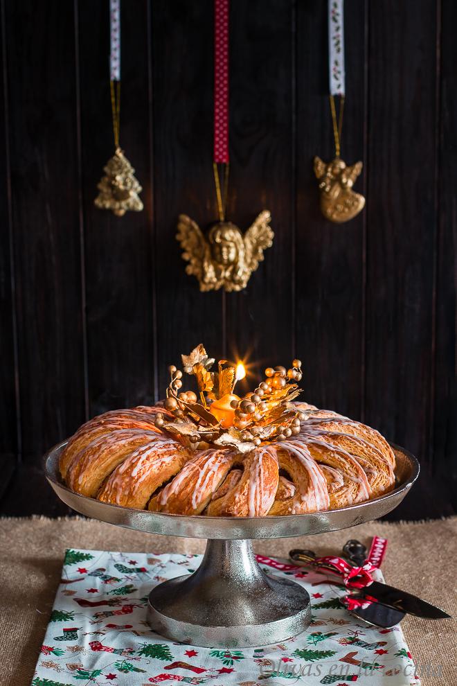 Corona Sueca de Navidad