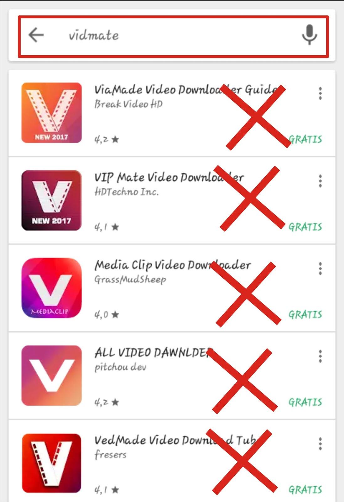 cara download video di hp android