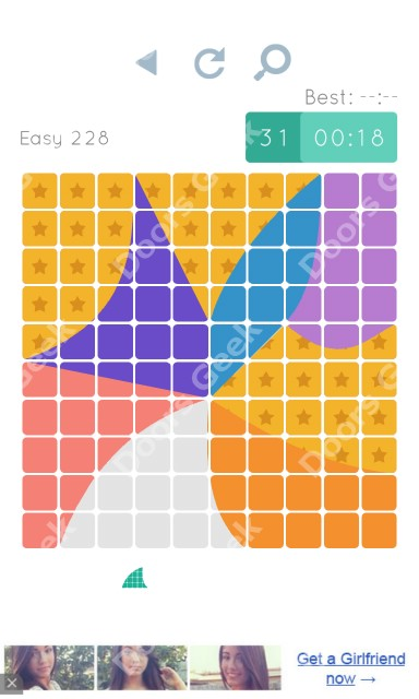 Cheats, Walkthrough for Blocks and Shapes Level 228