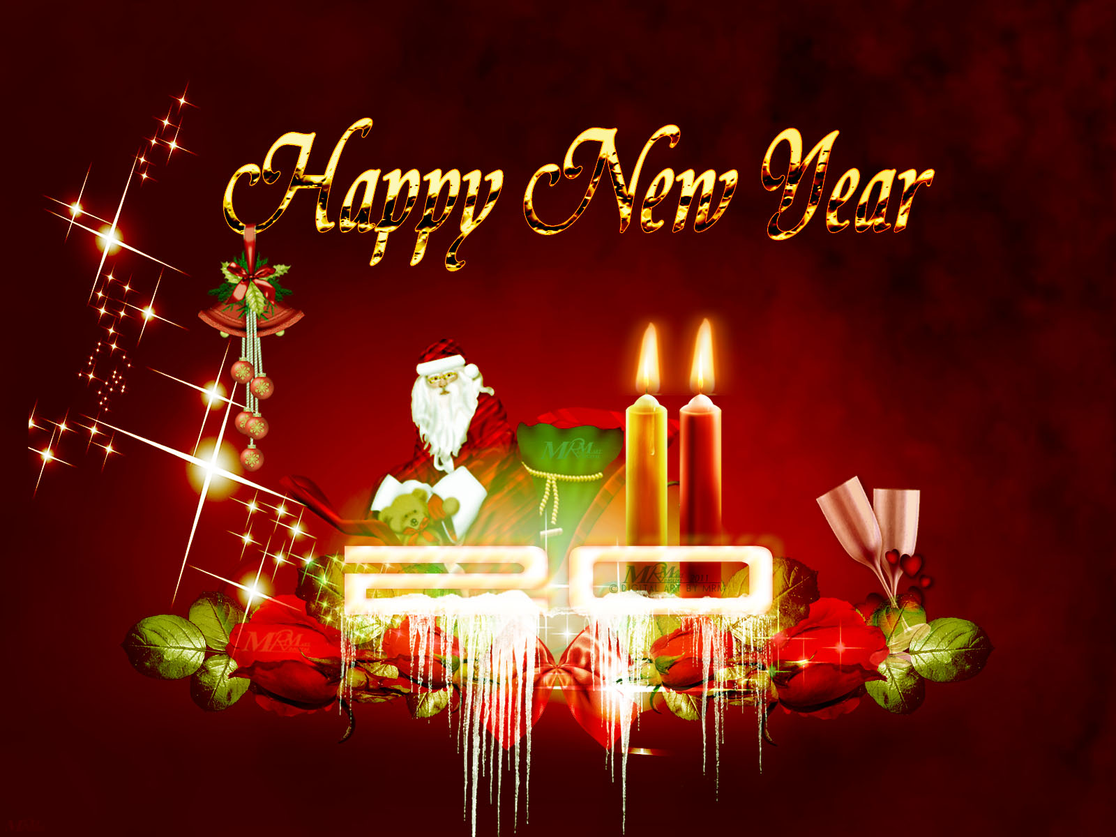 New Year Wallpapers 2011 New Year Pictures Happy New Year 2011. 1600 x 1200.Happy New Year Foto