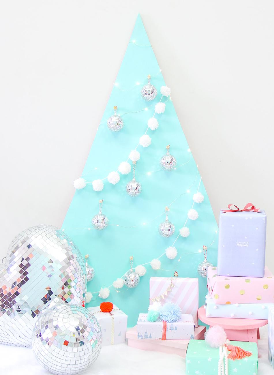 Video Diy árvore De Natal De Madeira Blog Do Math