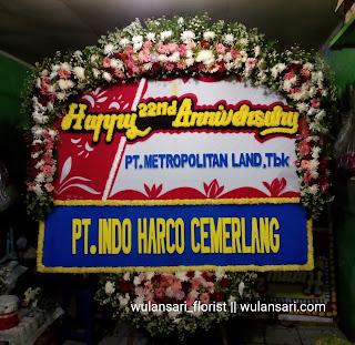 Bunga Papan Happy Anniversary (WS-105)