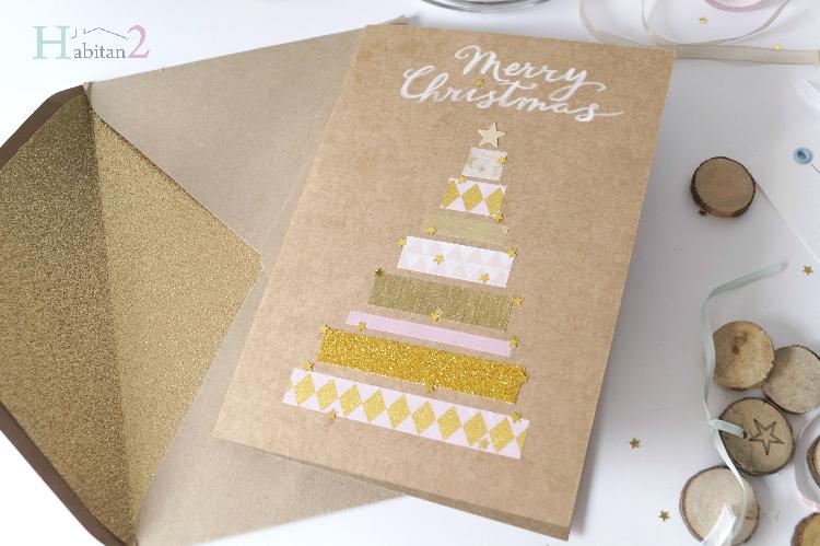 Postales navideñas para descargar gratis / diseño de Habitan2