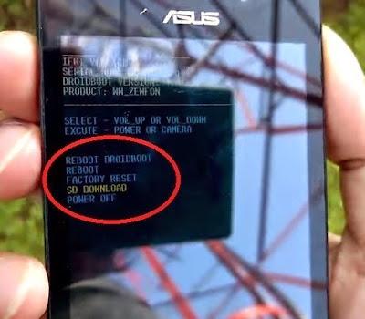 Mengatasi Bootloop ASUS Zenfone 4