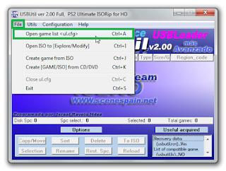 Cara Mengganti Judul Game PS2 OPL Dengan USBUtil