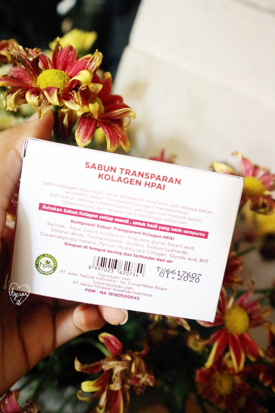 Review Hpai Natural Kolagen Body Soap Tyeaan Produk Herbal Sabun Kologen Ini Bermanfaat Untuk Membersihkan Kulit Tubuh Sekaligus Melembabkan Membuat Kenyal Dan Kencang Secara Tidak Langsung Merawat