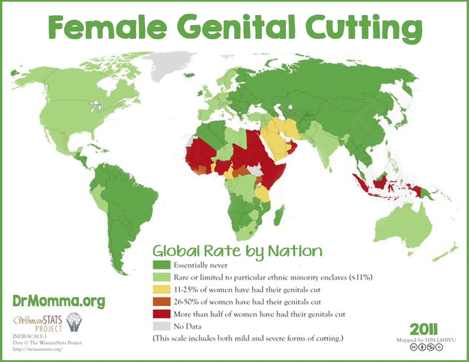 a look at the state of female genital mutilation around the world Last week banning the practice of female genital mutilation final acts as head of state been cut in 30 countries around the world according to.