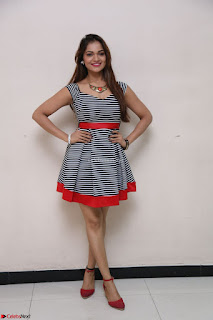 Ashwini in Spicy Short Deep Neck Dress at Pelliki Mundu Prema Katha Trailer Launch Exclusive  33.JPG