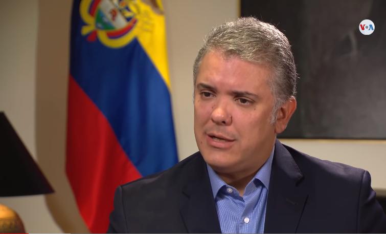 Presidente de Colombia en entrevista con La Voz de América / VOA