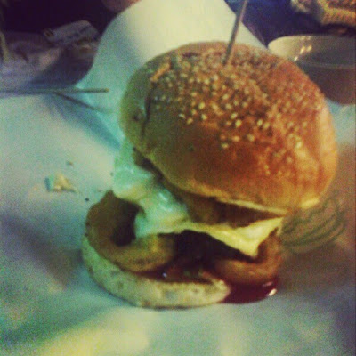 Burger Bakar Abang Burn - Supremo Cheese Beef