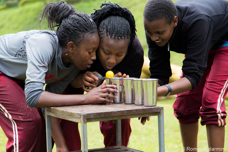 Ropes Course Ping Pong Travel Volunteering in Kenya with Freedom Global