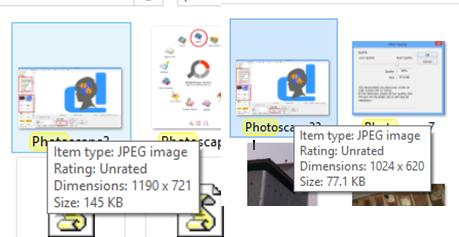 Cara Mengecilkan Ukuran Foto Hasil Scan