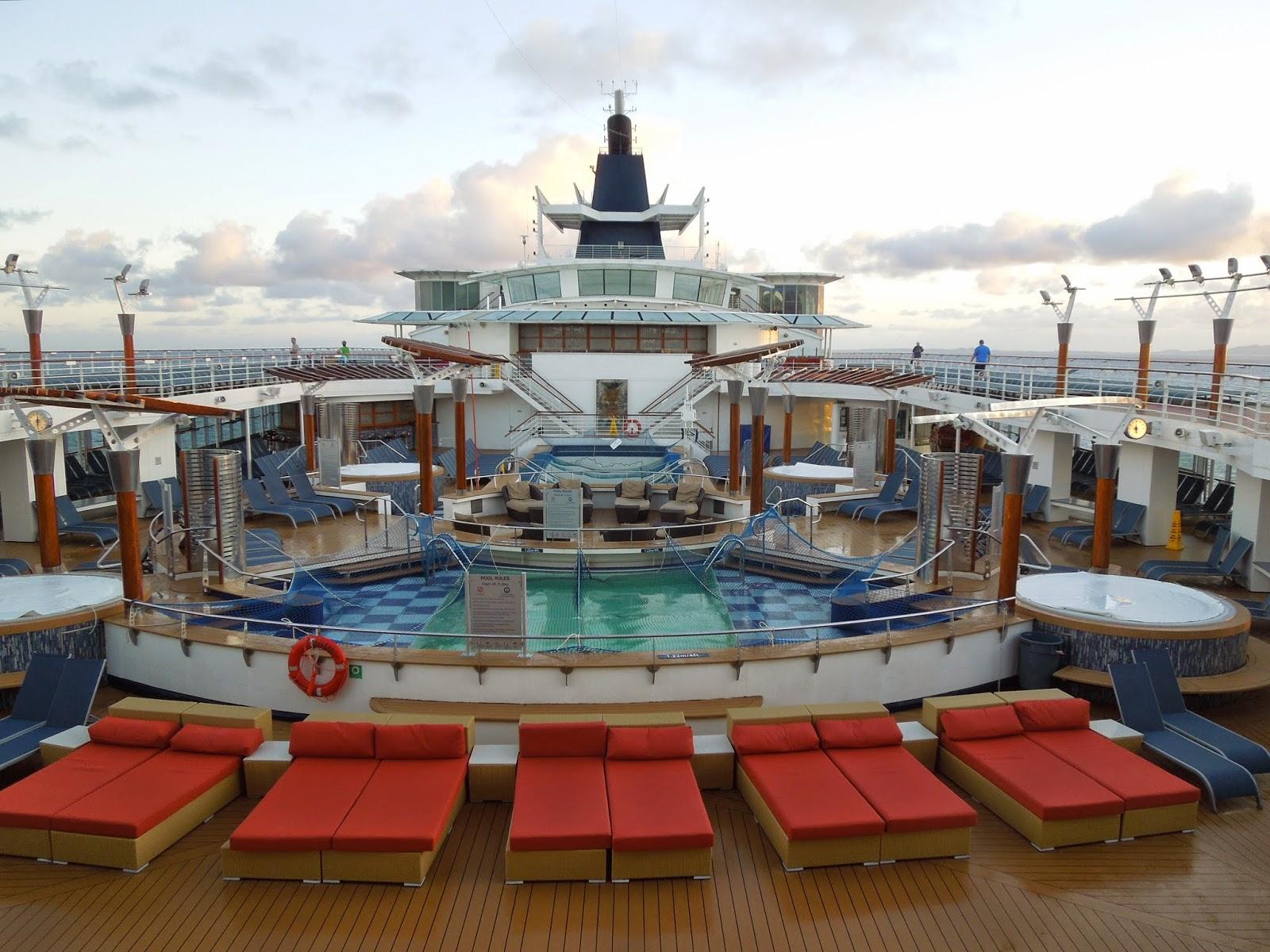 Celebrity Summit main pool