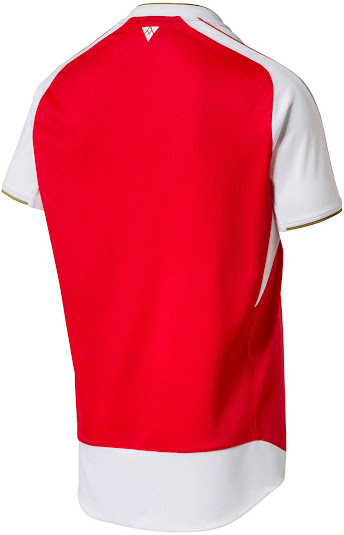 This Is The New Arsenal 2015 16 Home Shirt