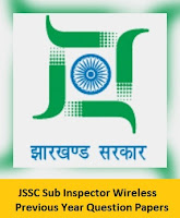 JSSC Sub Inspector Wireless Previous Year Question Papers
