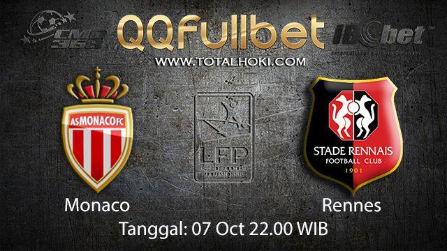 Prediksi Bola Jitu Monaco vs Rennes 07 Oktober 2018 ( French Ligue 1 )