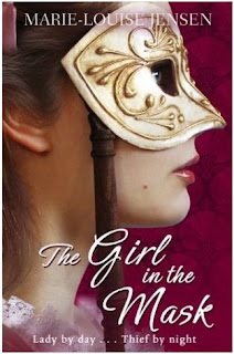 Cover for The Girl in the Mask by Marie-Louise Jensen