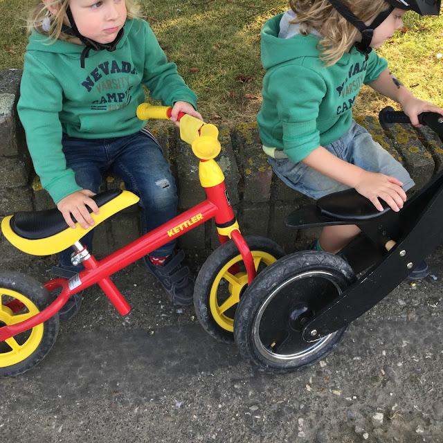 Nachhaltigkeit mit Kindern - Fahrrad fahren statt Auto